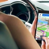 Which navigation app is exectly: Apple Maps, Google Maps, and Waze?